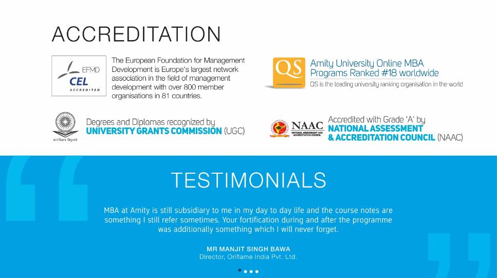 Amity University Online In India