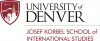 University of Denver, Josef Korbel School of International Studies
