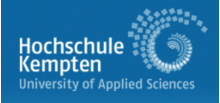 University of Applied Sciences Kempten