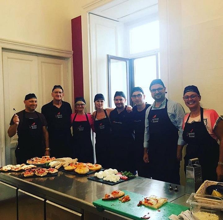 Italienisch Kochkurs, Salerno, Italien 2019